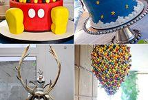 Tortas decoración / by María Pía Valero Schweizer