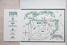 creative map designs / by Sarah Heal