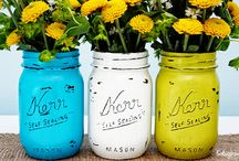 Mason Jars / Mason jar crafts, recipes and home decor ideas / by Gina Bell... East Coast Mommy