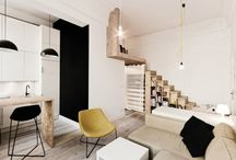 HOMES - TINY SPACES / by Jessica Acs