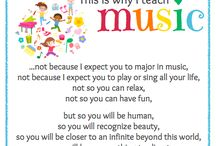 Music Education - Advocacy and Research / Promoting the importance of Music Education. / by Debbie O'Shea