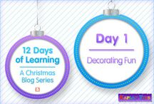 12 Days of Learning / Learning for the holidays / by Kaplan Toys