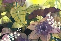 Watercolor Flowers / by Deb Haney