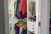 closet in master / by Paige Swain