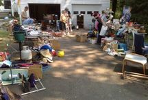 garage sale tips / by Mary Engle