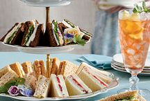 TEA PARTY  (SANDWICHES & SWEETS) / by Kit Shaw