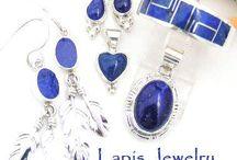 Lapis Lazuli Jewelry / Lapis Silver Jewelry | Four Corners USA OnLine | Native American Jewelry Store / by Four Corners USA OnLine