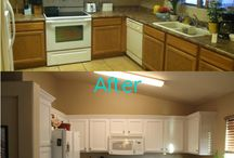 Kitchen Makeover / by Justyne Swanson