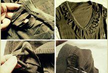 reciclados de ropas / by Cecilia Tintel