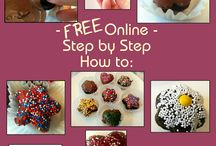 Kitchen Kraft How to's and Creative Pins Shared. / cake pop push up cake pops baking ideas cake decorating cupcake decorating ideas and tips / by Kitchen Krafts