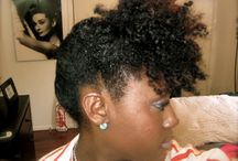 My curly hair / by Tamisha Raqib