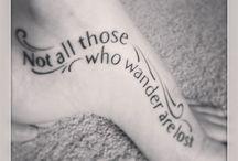 Tattoo ideas / by Elaine Blaisdell