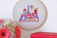 Cross stitch / by Christy Davis