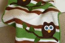Blankets / Crochet and knit blankets. Some have patterns, some do not. / by Nicole Carlson