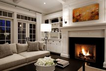 Living Room Ideas / by Ashley Carnes