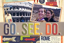 Scrapbook-Travel/Vacation / by Colleen Carrillo