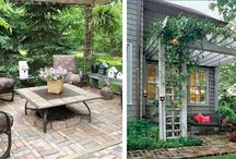 Small Patio Ideas  / by Jan Koehn