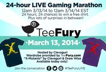 TeeFury Special Events / Check out all of the fun stuff we have going at TeeFury! / by TeeFury