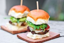 Burgers and Sliders / by Greta De Meo