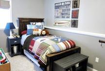 Boys room ideas / by Chrissy Warren