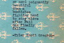 Typewriter Series by Tyler Knott Gregson / by Tyler Knott Gregson