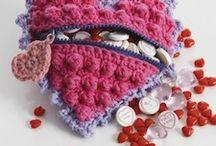 Valentine's Day Crochet Patterns / heart crochet patterns, valentine's day crochet patterns, diy valentine, valentine's day crafts, valentine's day printables, simple valentine's day ideas, valentine's day, valentine / by AllFreeCrochet