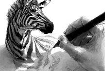 Arte (grafito: clarooscuro) / by David Jerez