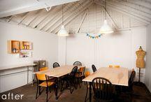 loft studio / by Cassie Bustamante (Primitive & Proper)