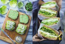 sandwiches / by Lourdes Gonzalez