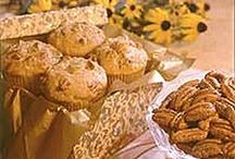 Muffins, oh muffins / All types of muffins (glorious muffins) with Georgia Pecans.  Additional recipes available at www.GeorgiaPecans.org. / by Georgia Pecans Commission