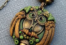 Polymer Clay Beads & Tutes / by Robin Harper