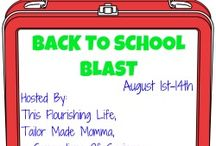 Back To School Blast Sponsors / by Erica {This Flourishing Life}