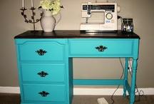 DIY Sewing/Craft Tables / by Diana Barkmann