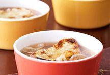 Soups / by Mary McGrew