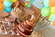 EVENTS: chip&dale birthday party / ideas for a chip and dale themed birthday party / by Telva MT