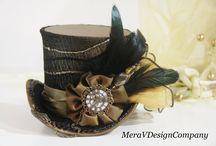 Steampunk Women's Hats / by Indie Fashion Love