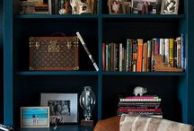 Bookshelves - Designs and Ideas / by Linda Younkman