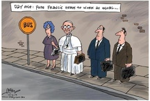 Francis / Pope Francis. St. Francis of Assisi is my beloved Saint. Pope Francis glows with the love of St. Francis. And he has a marvelous sense of humour and an earthiness of the common everyday person. / by Terry Ivan