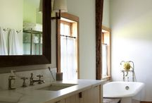 Primitive and Colonial Bathrooms / by Susan Floyd