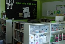 Craft Room Ideas / by Karen Balcanoff
