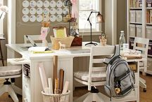 Sewing/Craft Room Ideas / by Summer LaForge Gardner