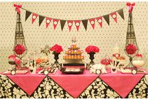 Black & White with a splash of color / by Karen Riley-Belle (Bella Events by Kay)