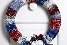 Different wreath ideas  / by Lindsay Foster