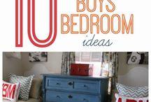 Boys room / by Amanda Daugherty-Heydecker