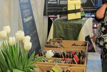 vendor booth ideas / by Sarah Nielsen