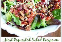 salads / by Shelli Larsen McBride