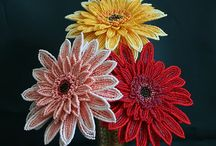Bead flowers / by Cheryl VanGuilder