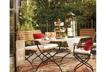 HOME: Outdoor Dining Furniture / by Leigh Sidell