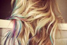 hairrr, nails & make up :) / by Brittany Duke