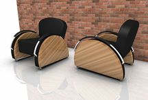 Modern Rally Lounge Chairs from kimmodesign. / by kimmodesign